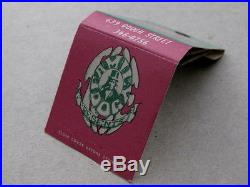 Family Dog Presents Matchbook 1966 Authentic Chet Helms Logo Graphics EXC RARE