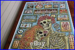 Fare Thee Well Emek VIP poster Chicago Grateful Dead