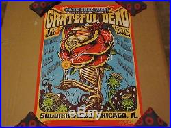Fare Thee Well Grateful Dead Chicago Munk One Poster Set VIP Artist Edition