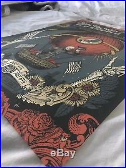 Fare Thee Well Justin Helton 2015 Print Chicago Grateful Dead #382