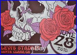 Fare Thee Well Santa Clara Posters Grateful Dead