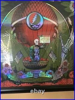 Fare thee well poster, Justin Helton/ Grateful Dead