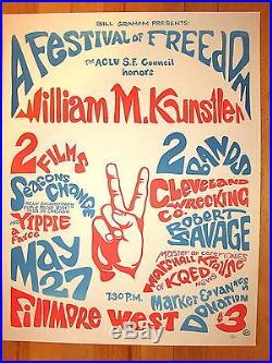 Festival of Freedom 1967 Poster FD BG AOR