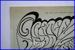 Fillmore BG-62-OP-1 Grateful Dead Signed by Wes Wilson