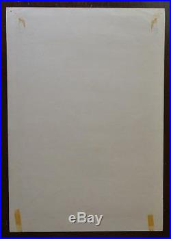 Fillmore Poster BG 17-OP-1 1st Print Grateful Dead Jefferson Airplane