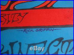 Fillmore Poster Big Brother And The Holding Co. Rick Griffin B. G. 136