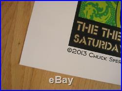Fillmore poster (era) Chuck Sperry Widespread Panic