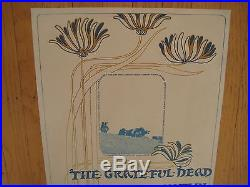 Fillmore poster era Grateful Dead Continental Ballroom 1967 Sons of Champlin