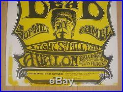 Fillmore poster era Grateful Dead Family Dog 22 1st print Kelley/Mouse