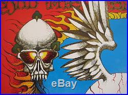 Fillmore poster era Jimi Hendrix Rick Griffin