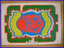 Fillmore poster era Morrison For Mayor Wes Wilson 1967