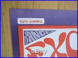 Fillmore poster era Quicksilver Berkeley 1967 Ruth Garbell