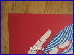 Fillmore poster era Rare Grateful Dead. 1967 Cannon Continental