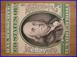 Fillmore poster era Super Rare Grateful Dead Carousel Gut 1968