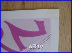 Fillmore poster era The Ark Sausalito 1966 Blackburn and Snow handbill