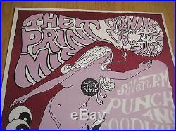 Fillmore poster era The Print Mint Haight St. S. F. 1966