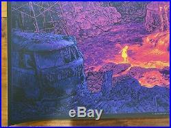 Fire On The Mountain Grateful Dead Daniel Danger Poster Print