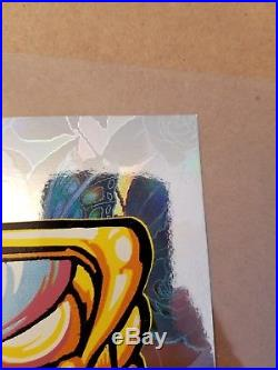 Forever Grateful Dead AJ Masthay Print Poster Signed #d xx/100 LE MINT Rose Foil