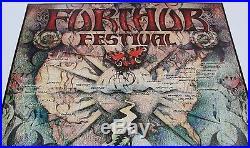 Furthur Festival Grateful Dead Members 1996 Tour Michael Everett Poster