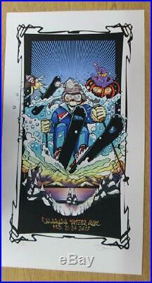 Furthur Grateful Dead Broomfield Ogden 2013 Original Concert Poster Serlo Ski