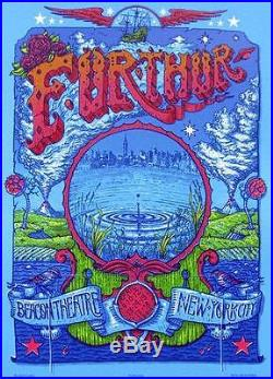 Furthur New York Beacon 2012 Concert Poster Grateful Dead Original Welker