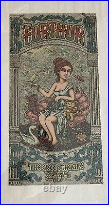 Furthur poster Set Greek Theatre 2013 Grateful Dead And Company