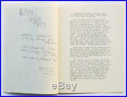 GRATEFUL DEAD 1967 WB Publicity Photos, FAN CLUB ZINE, Mini Poster RARE ARCHIVE
