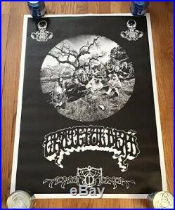 GRATEFUL DEAD AOXOMOXOA VINTAGE LP POSTER Rick Griffin Courtney Love