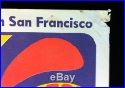 GRATEFUL DEAD (BG-41) 1966 FILLMORE WEST Vintage Concert Poster BILL GRAHAM