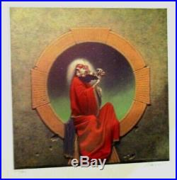 GRATEFUL DEAD BLUES FOR ALLAH POSTER Original 1st Ed 1974 Signed Numbered GARRIS