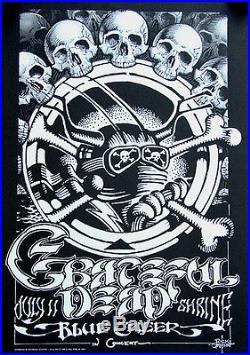 GRATEFUL DEAD Blue Cheer Shrine Auditorium LA 1968 Rick Griffin Art POSTER 15x23
