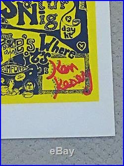 Grateful Dead Can You Pass The Acid Test Kesey Signed Artrock Print