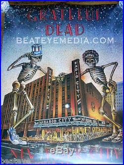 GRATEFUL DEAD-Concert Poster-COMIC ART-Stanley Mouse-Fillmore-Bill Graham-garcia