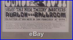 Grateful Dead Family Dog Fd # 12 First Printing Concert Poster Quick & The Dead