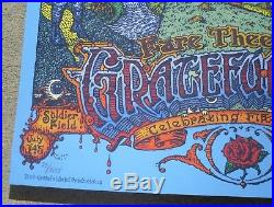 GRATEFUL DEAD Fare Thee Well Soldier Field Chicago 2015 Poster by David Welker