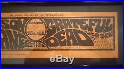 Grateful Dead Jefferson Airplane Bg 74 Bill Graham Hippie Concert 1967 Rare Very