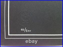 GRATEFUL DEAD On The Road Ltd. Ed. EMEK Poster Laser-Cut Foil #51/200