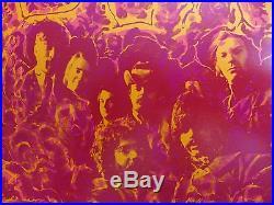Grateful Dead + Pentangle (bg-162-op-1) Original 1969 Fillmore Concert Poster