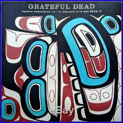 GRATEFUL DEAD Pacific Northwest'73-'74 Believe It Ltd Ed HUGE RARE Litho Poster