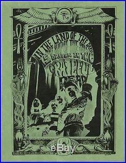 GRATEFUL DEAD RICK GRIFFIN Original 1967 DEBUT 1ST LP PROMOTIONAL Handbill #1