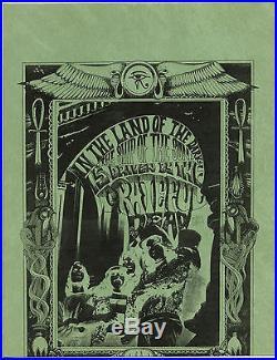 GRATEFUL DEAD RICK GRIFFIN Original 1967 DEBUT 1ST LP PROMOTIONAL Handbill #4