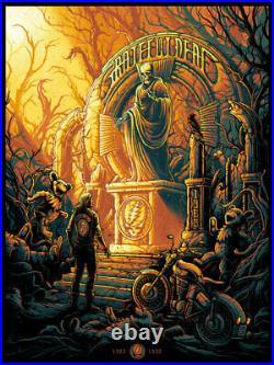 GRATEFUL DEAD Shrine Dan Mumford Poster Print Art 18x24 SIGNED AP #/28 Mondo
