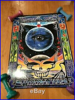 GRATEFUL DEAD Summer 1995 Poster by Richard Biffle NICE SHAPE