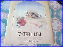 Grateful Dead Vintage Stanley Mouse 81 European Tour Poster