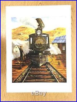 Grateful Dead Whistle Screaming Biffle Poster Art Print Original Giclee Terrapin