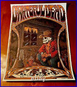 GRATEFUL DEAD ZAZZ CORP LE 50 Print Jerry Garcia Company Poster