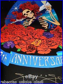 GRATEFUL Dead 50th Poster Art STANLEY MOUSE Sign Not company Helton Sperry Emek