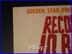 Garage Rock Battle of the Bands Concert Poster 1967 Boxing Style Santa Rosa CA