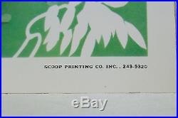 Genuine Original 1973 Summer Jam Concert Poster (16 x 22.5) Gratefuld Dead EX