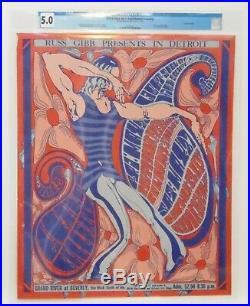 Grande Ballroom Concert Poster Southbound Freeway 1967 Donnie Dope Artist